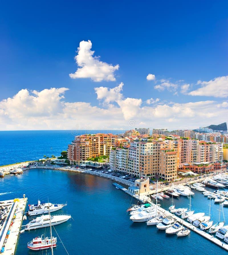 panorama- skysikt för härlig blå marina royaltyfri fotografi