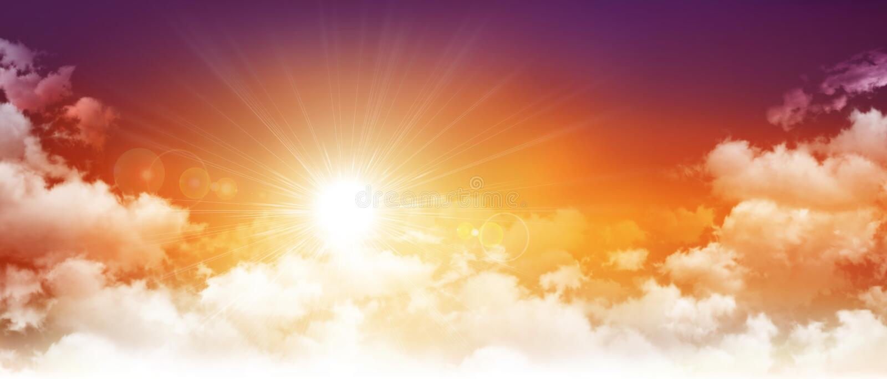 panorama- solnedgång royaltyfria foton