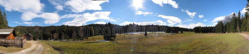 Panorama speciale da Tirol, Austria immagini stock