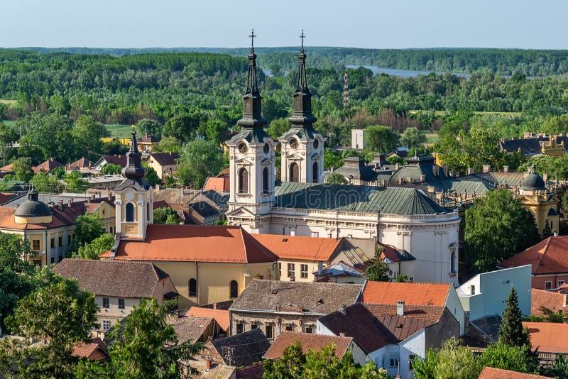Panorama Sremski Karlovci  zdjęcie stock