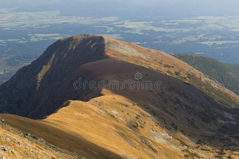 Panorama of Tatra Mountains royalty free stock image