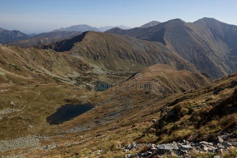 Panorama of Tatra Mountains royalty free stock images