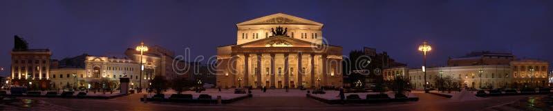 panorama teatru bolszoj zdjęcia stock