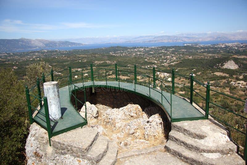 Download Panorama Terrace In Pelekas (Corfu, Greece) Stock Images - Image: 33472044
