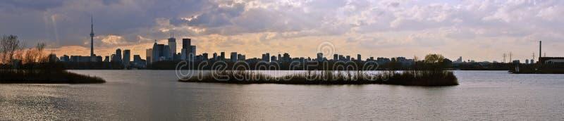 panorama Toronto zdjęcia stock