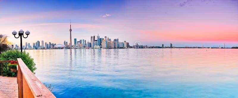 Panorama Toronto miasto zdjęcie stock