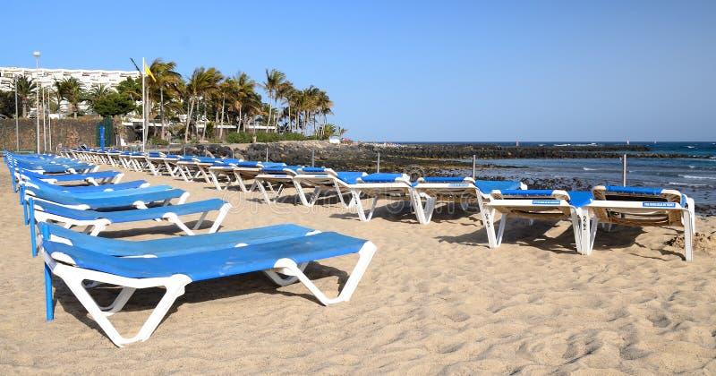 Panorama Of Tropical Beach Royalty Free Stock Image