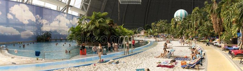 Panorama tropical d'îles photo stock