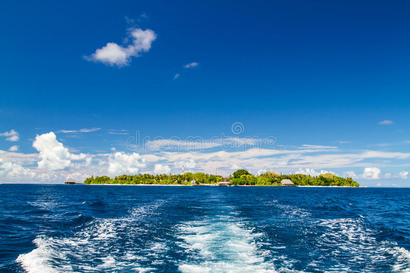 Panorama Tropical Island Landscape concept royalty free stock photo