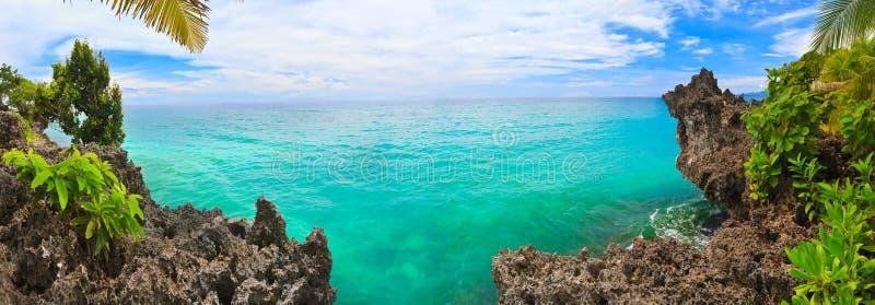Panorama tropicale fotografia stock libera da diritti