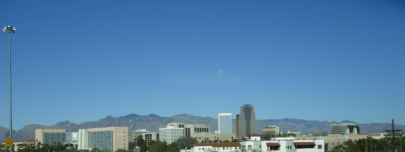 Download Panorama Of Tucson Downtown, AZ Stock Photography - Image: 37531932