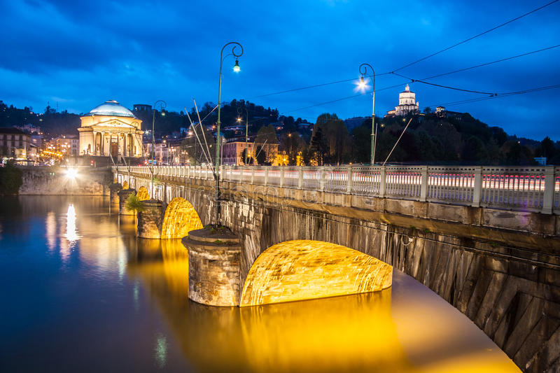 Download Panorama of Turin, Italy. stock image. Image of blue - 27280811
