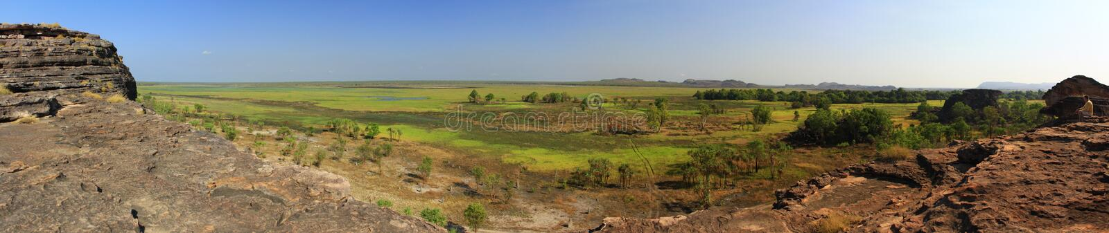 Panorama Ubirr, parc national de kakadu, Australie photos stock