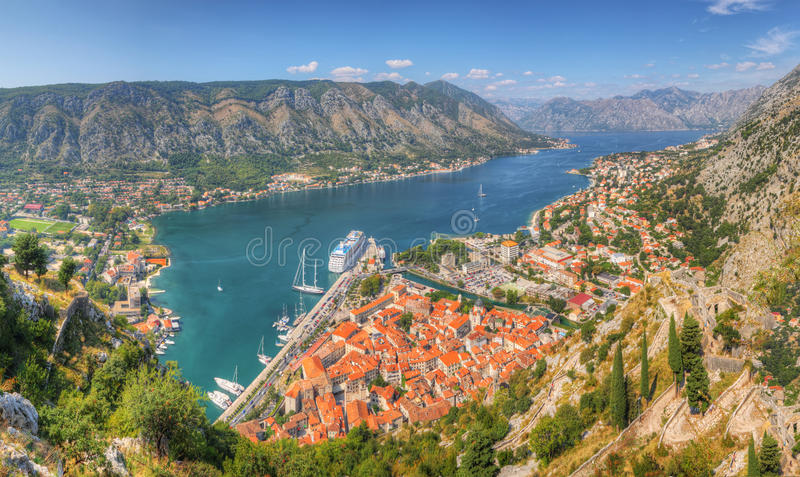 Download Panorama Unesco Bay Of Kotor, Stock Photo - Image: 18383392