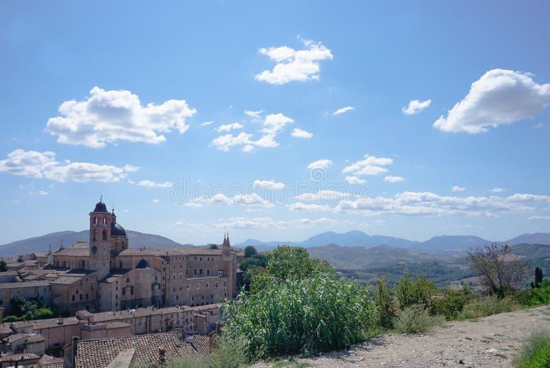 panorama Urbino obrazy stock