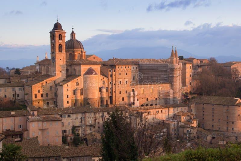 panorama Urbino fotografia royalty free
