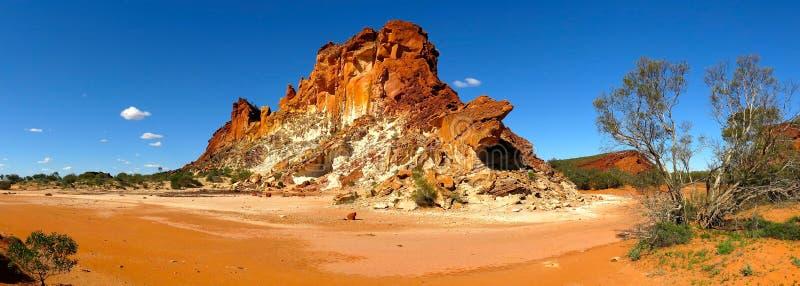 Panorama - vallée d'arc-en-ciel, territoire du nord du sud, Australie photos stock