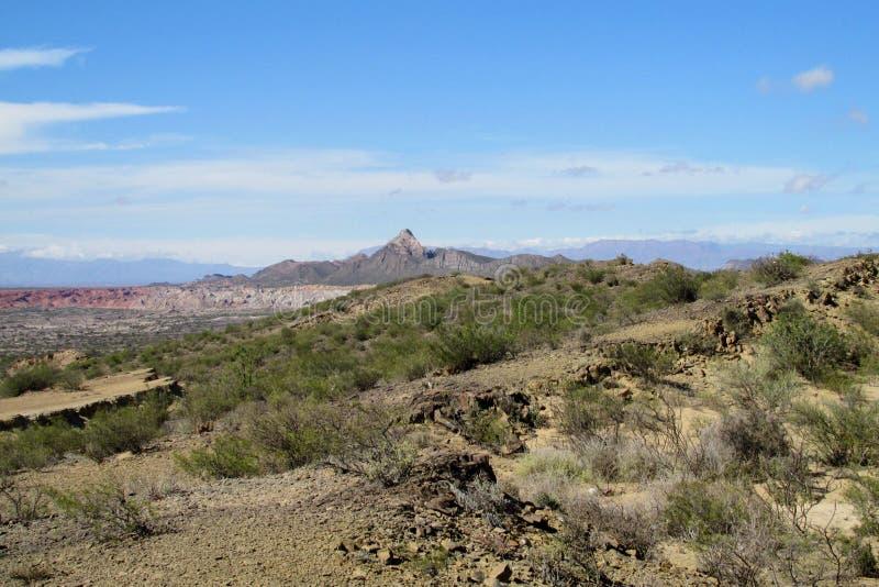 Panorama Valle-De-La Luna stockfoto
