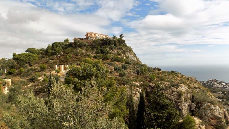 Panorama van benalmadena-ANDALUSIA-Spanje royalty-vrije stock foto