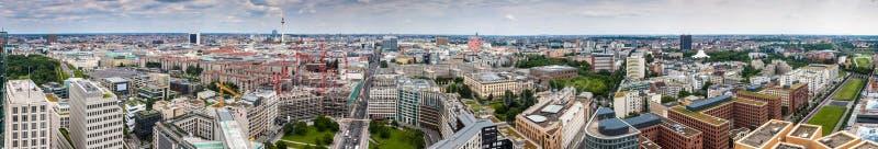 Panorama van Berlijn stock foto's