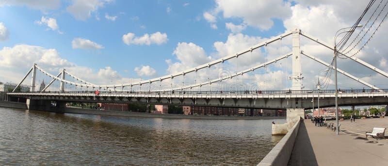 Panorama van de Krimbrug stock afbeeldingen