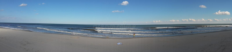 Panorama van de Oceaan stock foto's