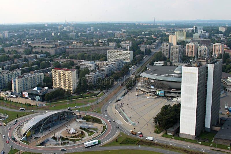 Panorama van de stad royalty-vrije stock foto's