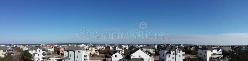 Panorama van een deel van Corolla royalty-vrije stock foto