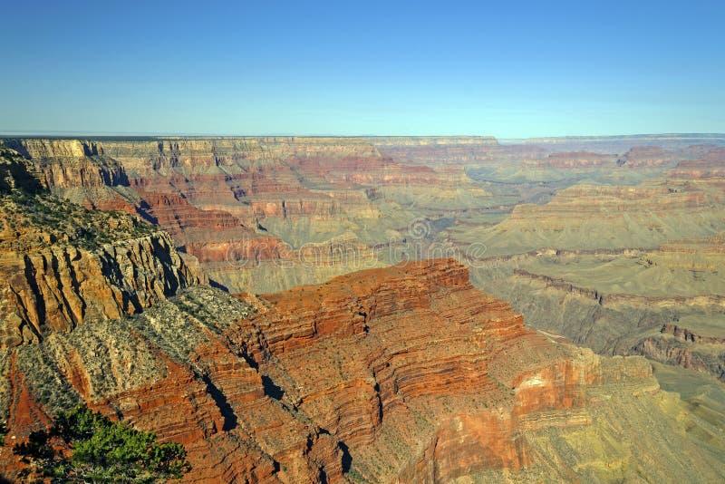 Panorama van Grand Canyon royalty-vrije stock afbeeldingen
