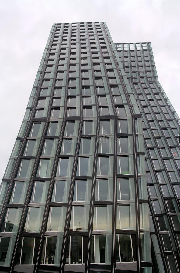Panorama van het bureaugebouw royalty-vrije stock afbeelding