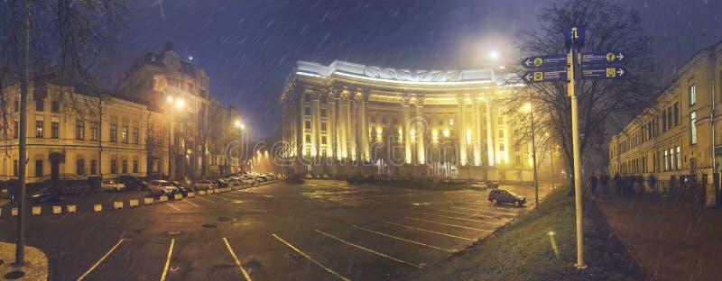 Panorama van het Ministerie van Buitenlandse zaken royalty-vrije stock foto's