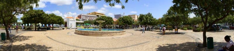 Panorama van het stadscentrum royalty-vrije stock afbeeldingen