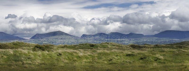 Panorama van het Welse platteland Anglesey Wales Europa stock fotografie