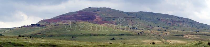 Panorama van hoogten stock afbeelding