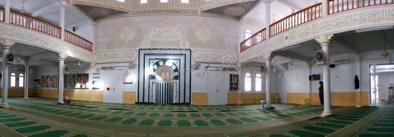 Panorama van Islamitische moskee stock afbeelding