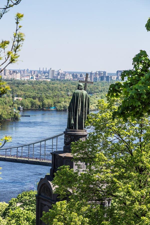Download Panorama Van Kiev, De Oekraïne. Stock Foto - Afbeelding bestaande uit kapitaal, stad: 39102758
