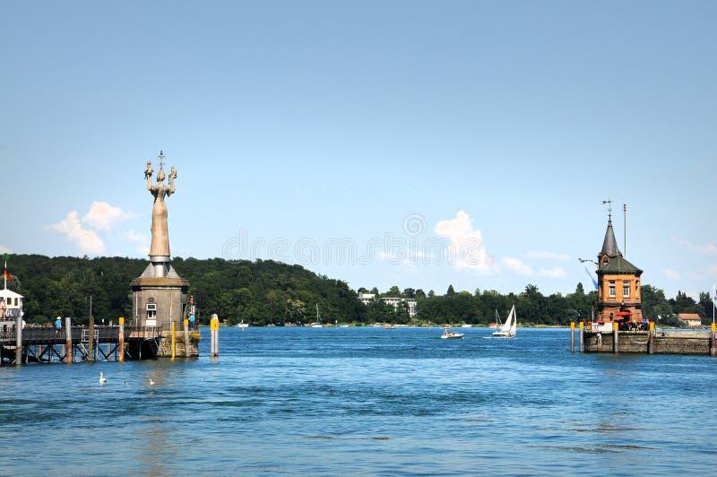 Panorama van Konstanz royalty-vrije stock foto's