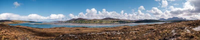 Panorama van Kyle van Tong in Schotland royalty-vrije stock foto