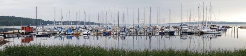 Panorama van Marina stock afbeelding