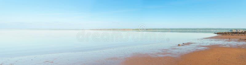 Panorama van Minas Basin stock afbeelding
