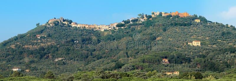 "Panorama van Montecatini-Alt, Montecatini Terme †""Italië stock fotografie"
