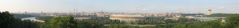 Panorama van Moskou stock foto