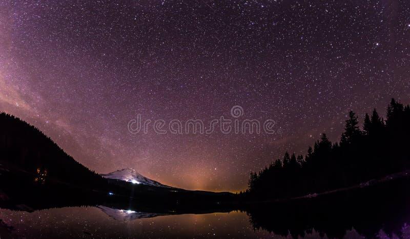 Panorama van Mt kap royalty-vrije stock foto