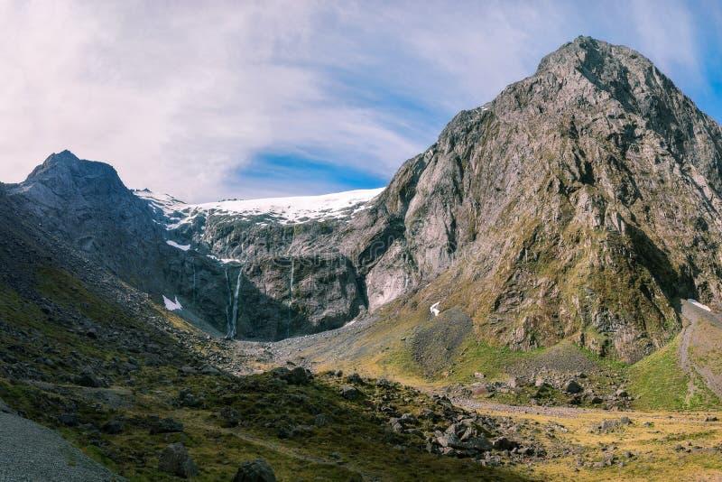 Panorama van Onderstel Talbot in Nieuw Zeeland royalty-vrije stock afbeelding