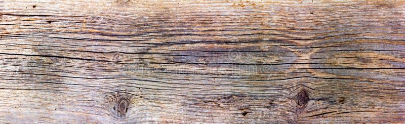 Panorama van oude houten textuur stock afbeeldingen