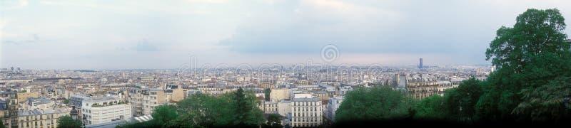 Panorama van Parijs. royalty-vrije stock fotografie