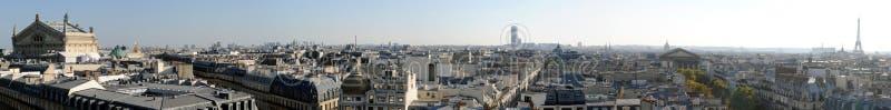 Panorama van Parijs in hoge definitie - Frankrijk stock fotografie