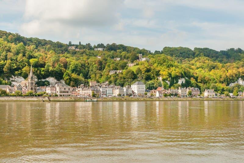 Panorama van picturesque La Bouillle royalty-vrije stock foto