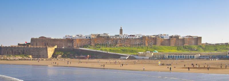 Panorama van Rabat royalty-vrije stock foto's