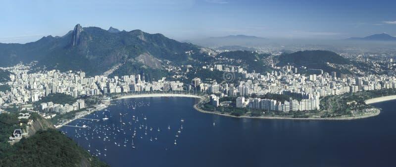 Panorama van Rio de Janeiro, Brazilië royalty-vrije stock afbeelding